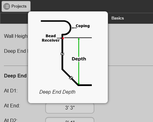 Depth Measurement Helpful Hint