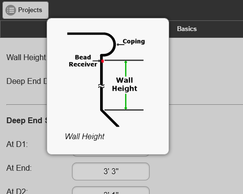 Wall Height Helpful Hint